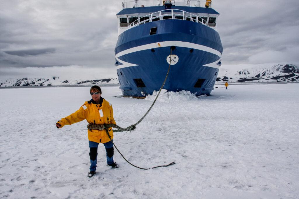 Antartida con Henar Roldan y Active Woman