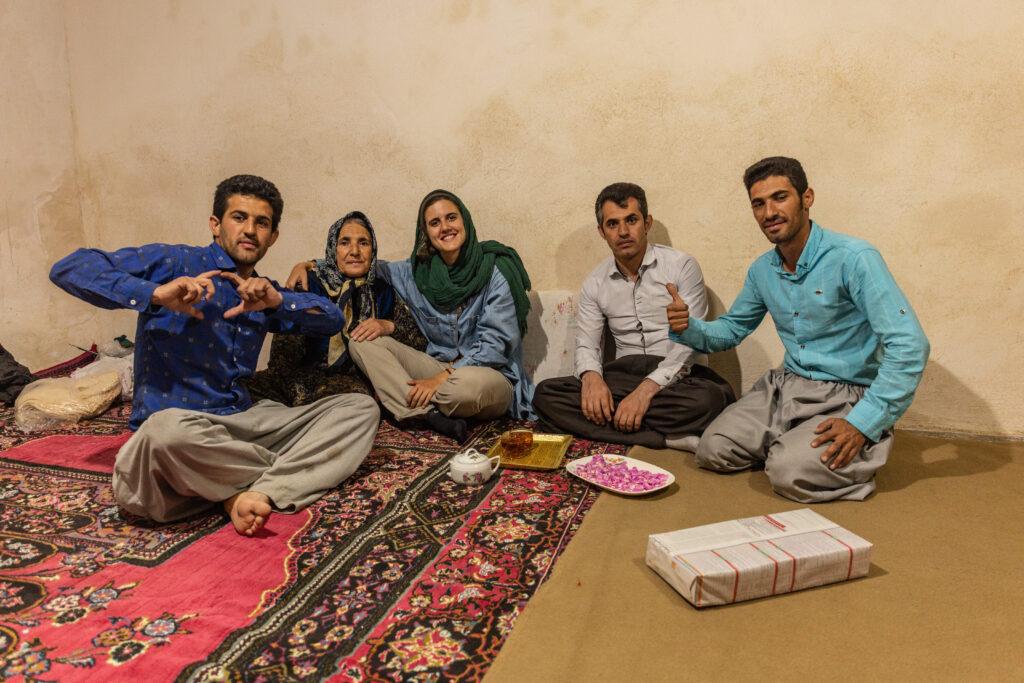 Irán sobre ruedas Ana Zamorano