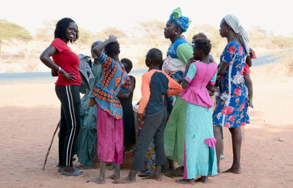 Senegal y Acrive Woman en Casamance
