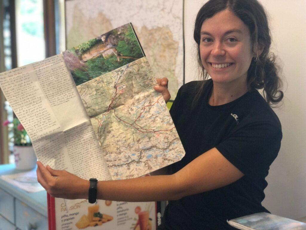Sara Vielba-Mapas de la Transpirenaica