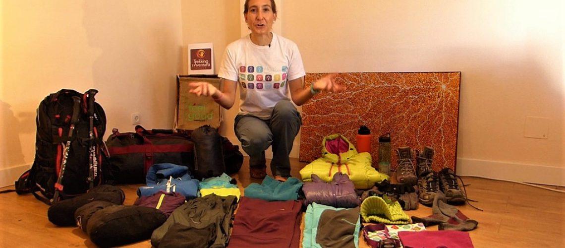 Equipación básica para el trekking a Everest